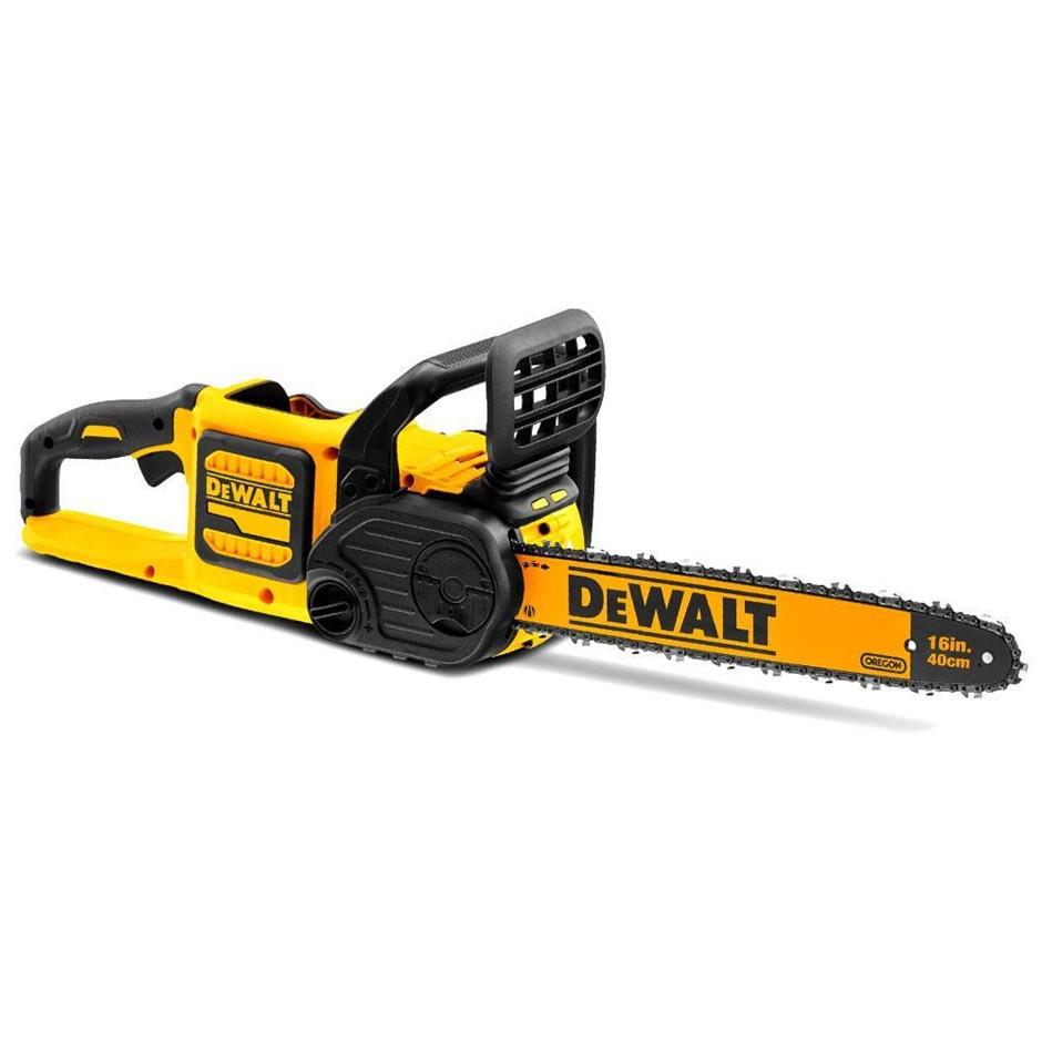 DEWALT 54V CR FlexVolt 40cm Chainsaw. Skin Only. N.B. Does not turn on. Lim