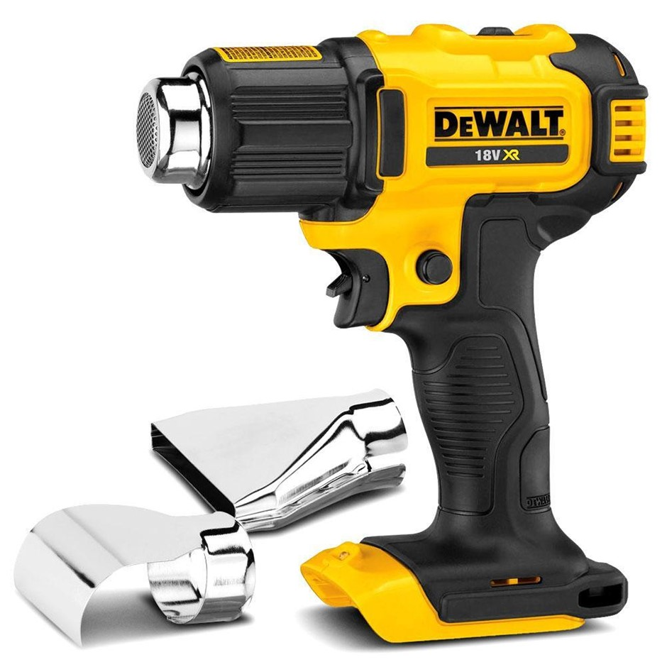 DEWALT 18V XR Li-ion Cordless Heat Gun. Skin Only. N.B. Power on test passe