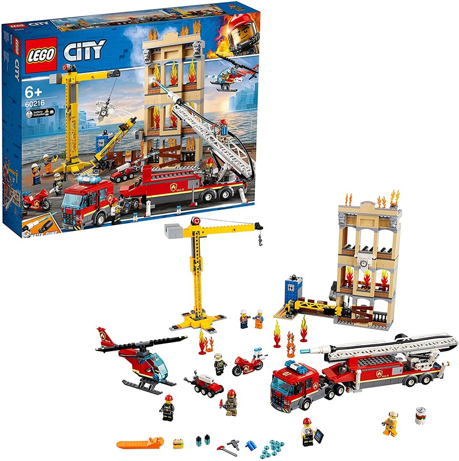 LEGO City Downtown Fire Brigade 60216 Building Toy