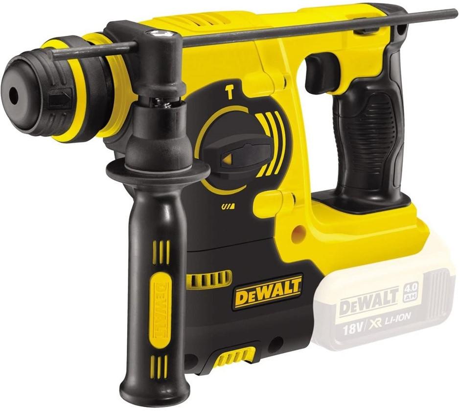 DEWALT 18V XR Li-ion SDS Plus Rotary Hammer Drill. Skin Only. N.B. Does not