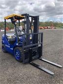Unreserved Unused 3 Ton Diesel Forklift