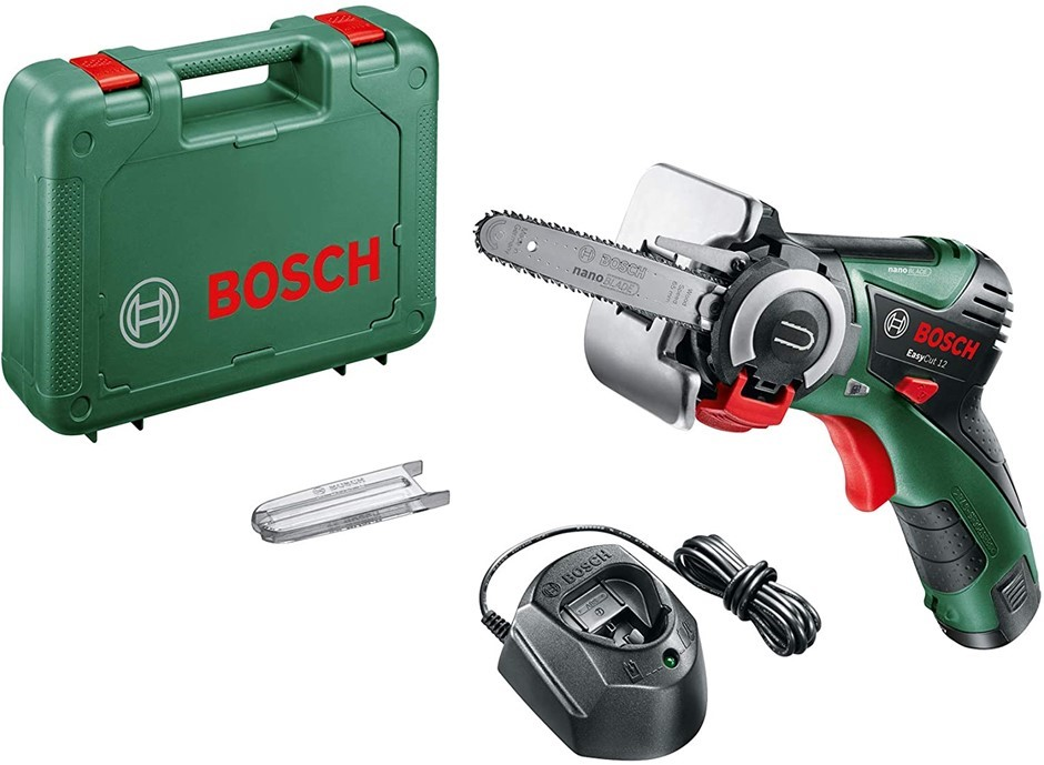 BOSCH Cordless Micro Nano Blade Chain Saw 12V, 2.5 Ah, Battery included in