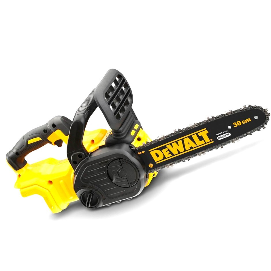 DEWALT 18V Brushless 300mm Chain Saw with OREGON Bar and Chain. Skin Only.