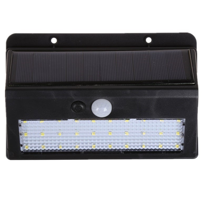 2 x LED Solar Motion Sensor Lights 30LEDs PIR CDS Motion Angle Distance 120