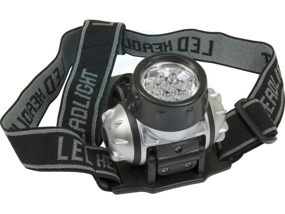 4 x TOLSEN 7-LED Head Lights, Multi-Function White Light. Buyers Note - Dis