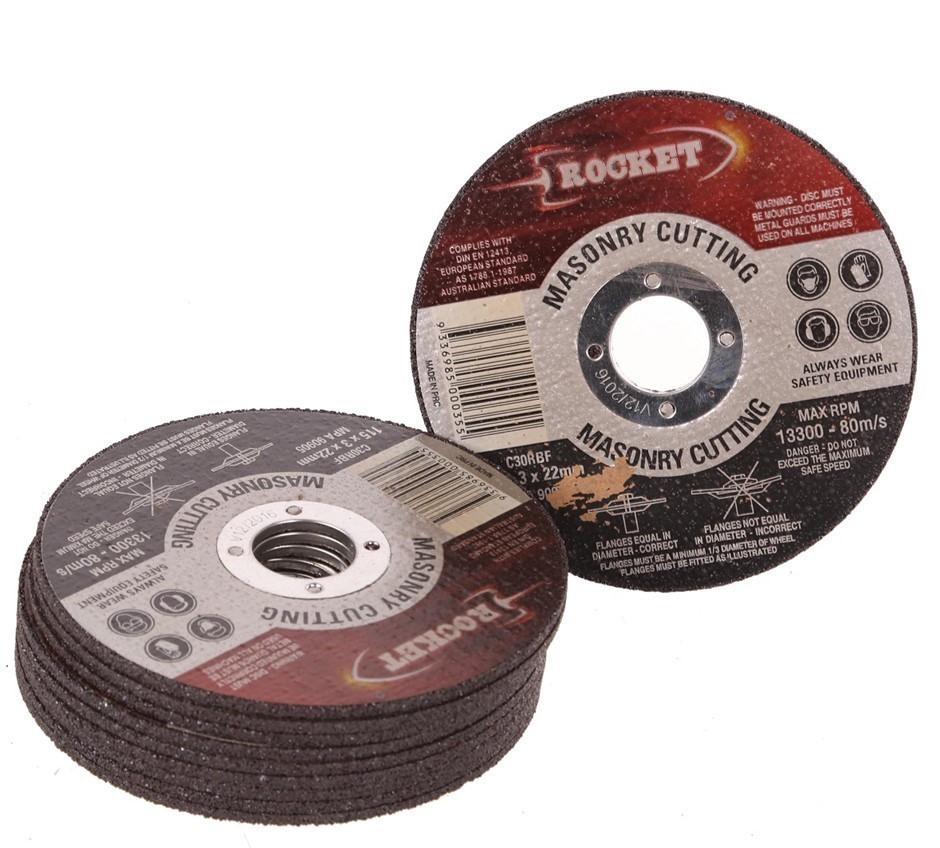 10 x Masonry Cutting Discs 115x3x22mm. Buyers Note - Discount Freight Rates