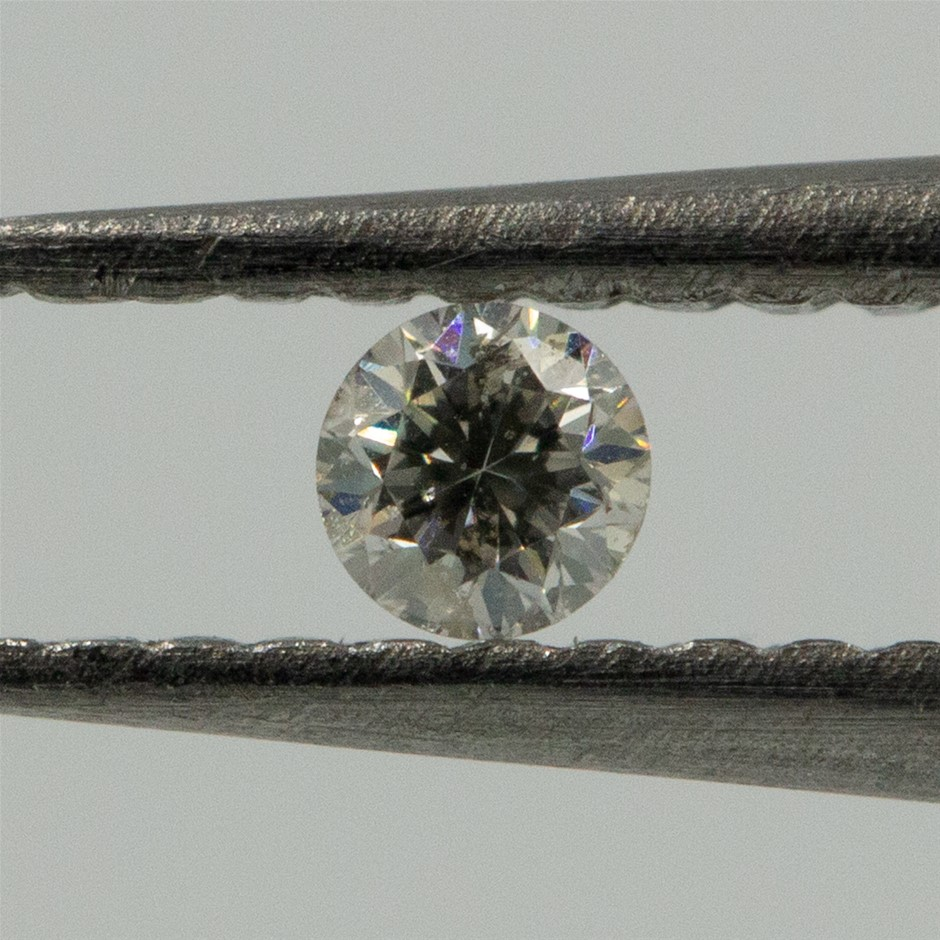 0.03ct Loose Diamond