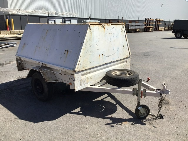 Enclosed Single Axle Box Trailer