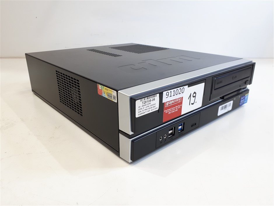 DESKTOP CORE I7-4790/16GB RAM/2TB SATA+120GB SSD