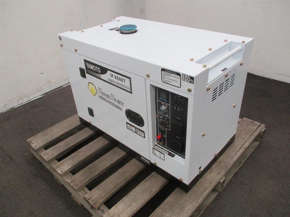 2020 Unused Yamoto IF8500T Diesel Generator Remote Start