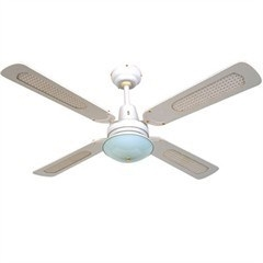 Omega Casablanca White Ceiling Fan With