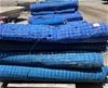 Blue Woven Barrier Netting