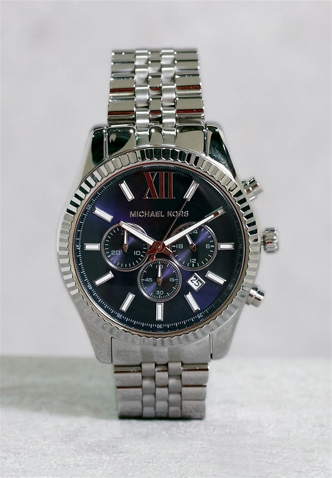 Mens new Michael Kors Couture NY chronograph luxury watch.