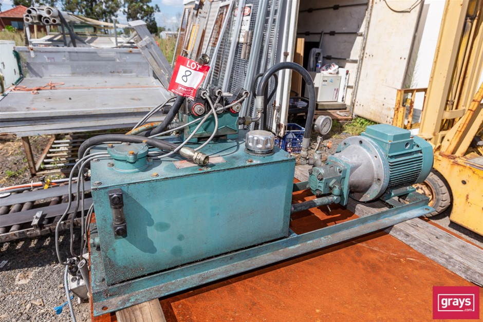 South COTT Hydraulic Power Pack in Frame