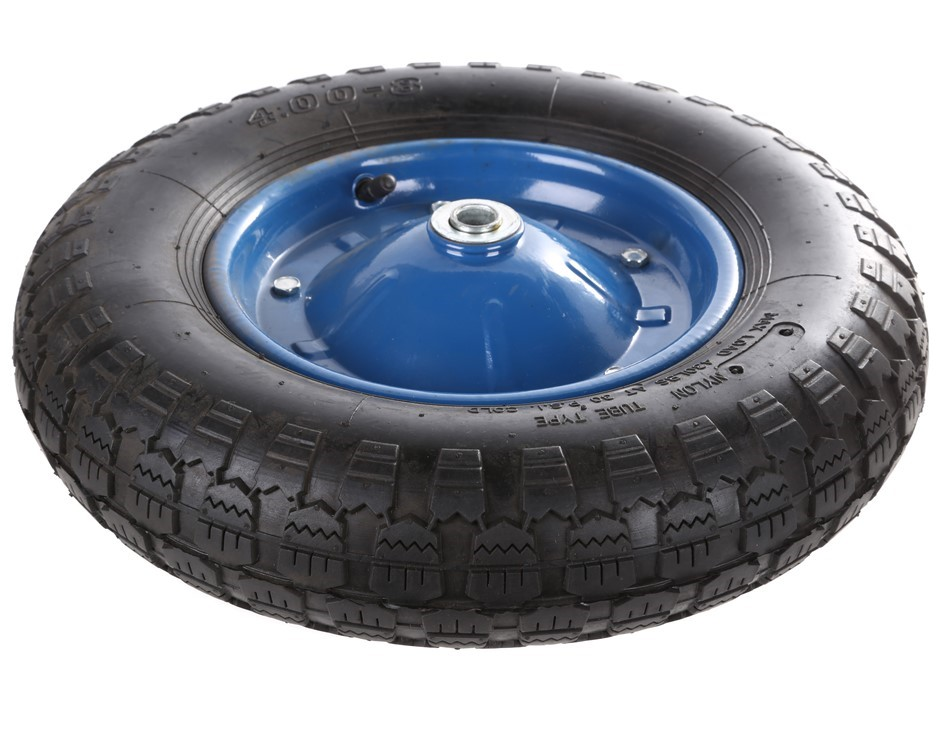 Pneumatic Tyred Rubber Wheel 15ins with Metal Centre. Buyers Note - Discoun