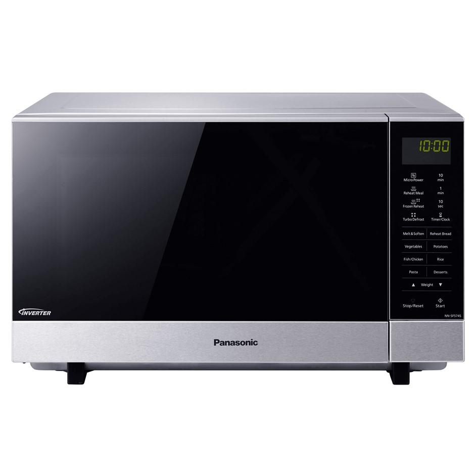 PANASONIC Microwave oven NN-SF574S, 27L. (SN:B02Z1968) (278402-11)