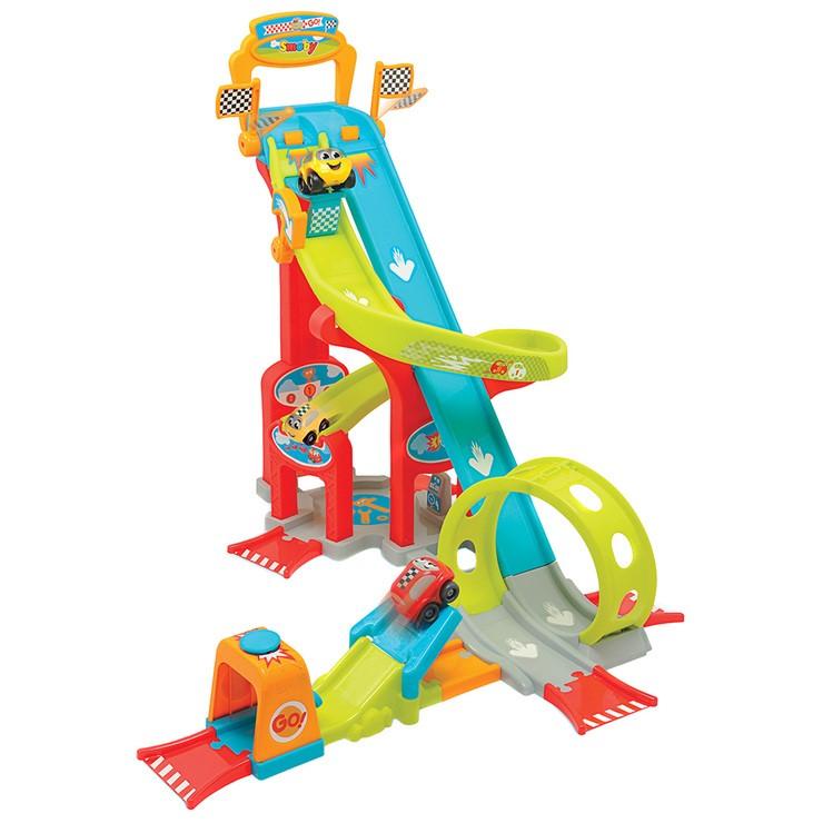 SMOBY PLANET VROOM Mega Jump Toy Car Race Track. N.B. Damaged box. (SN:CC70