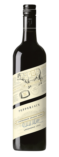 Pepperjack Graded Langhorne Creek Shiraz 2017 (6x 750mL), SA