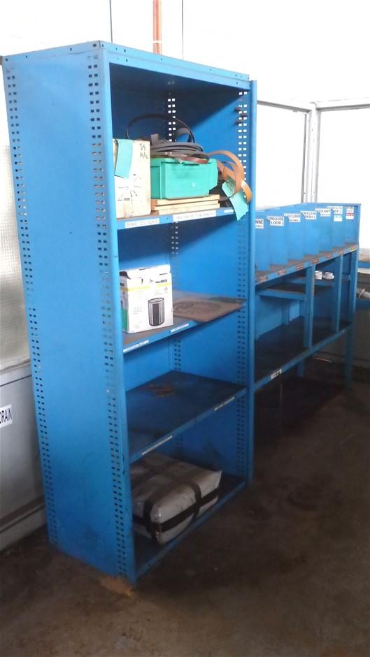4x Assorted Storage Units