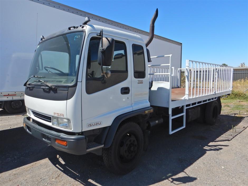 1997 Isuzu FSR700 4x2 Tray Body Truck (Pooraka, SA)