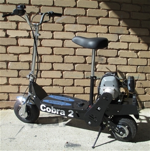 COBRA 2 Petrol Powered 2 Stroke Scooter