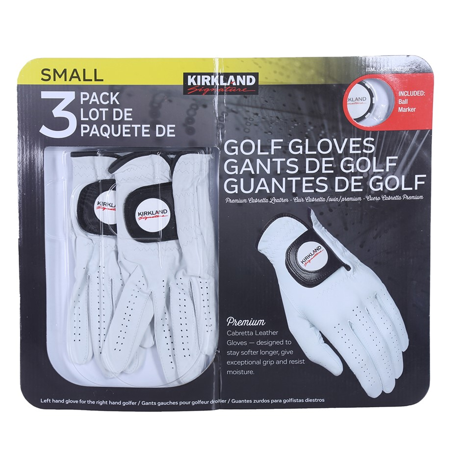2 x SIGNATURE Golf Gloves, Left Hand Glove for The Right Hand Golfer. N.B.