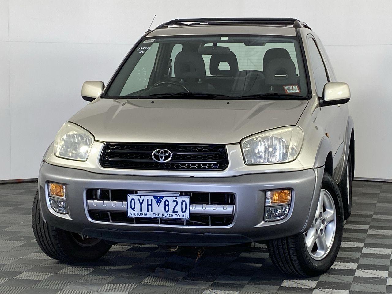 2001 Toyota Rav 4 Cruiser (4x4) Manual Wagon