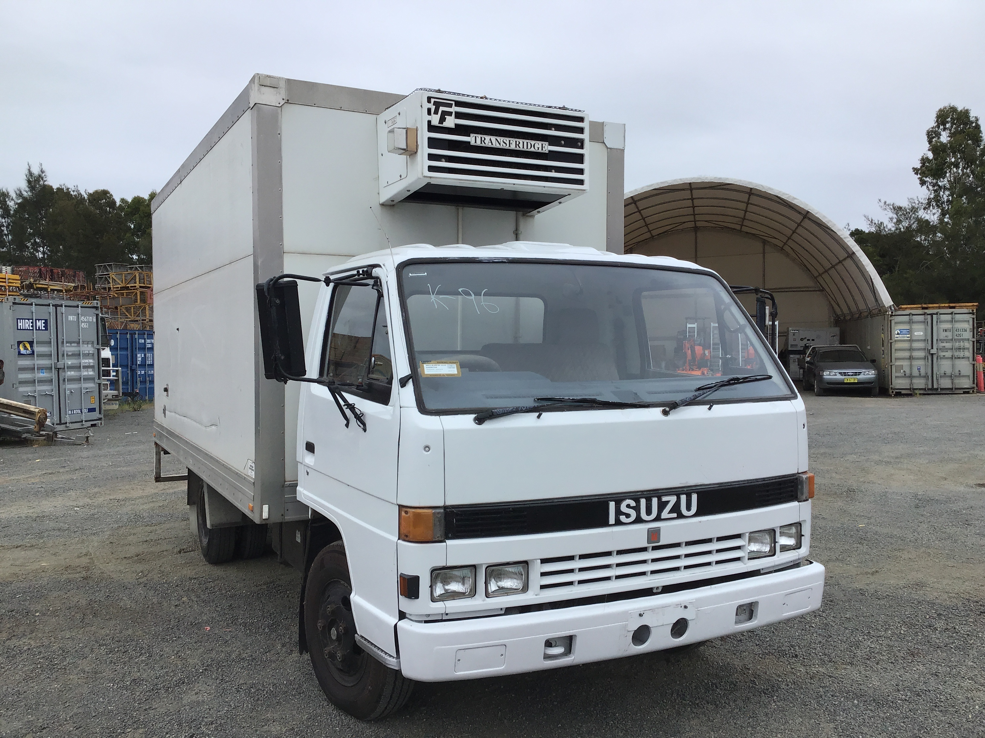1993 Isuzu NPR200 4 x 2 Refrigerated Body Truck