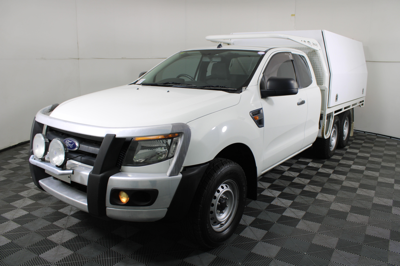 2013 Ford Ranger XL 4WD Turbo Diesel Extra Cab