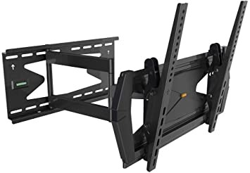 MONOPRICE Full-Motion Articulating TV Wall Mount Bracket- TVs 32 Inch to 55