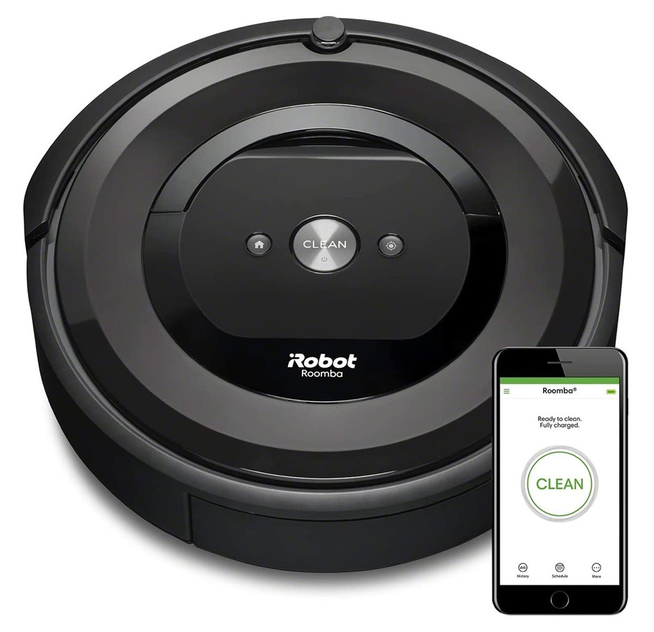 iRobot Roomba e5 Robotic Vacuum Cleaner, Model e5150. N.B. Used. Condition