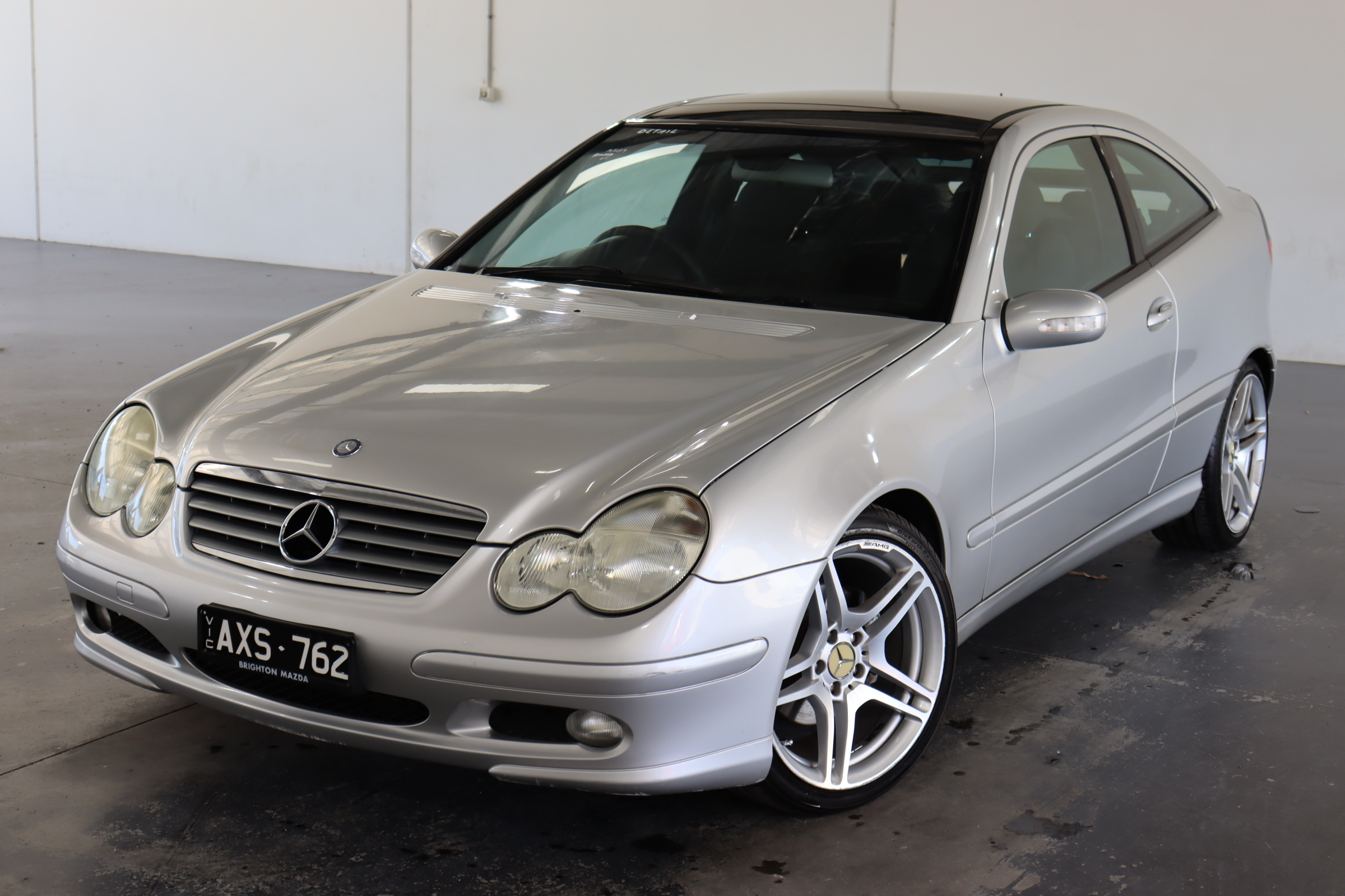 2003 Mercedes Benz C200 Kompressor CL203 Automatic Coupe