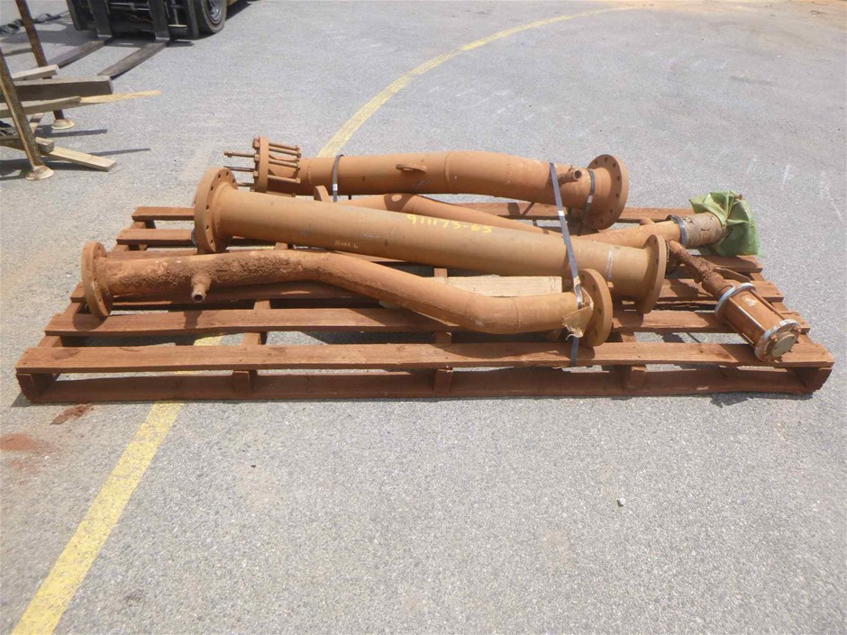 Heavy Machinery Pipes / Flanges