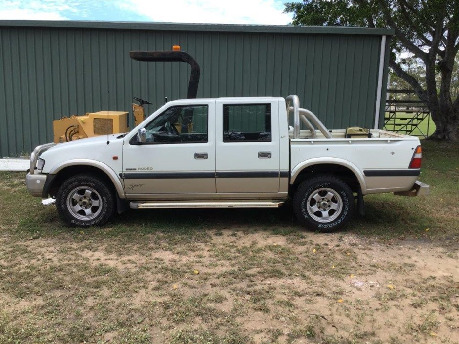 2000 Holden Rodeo