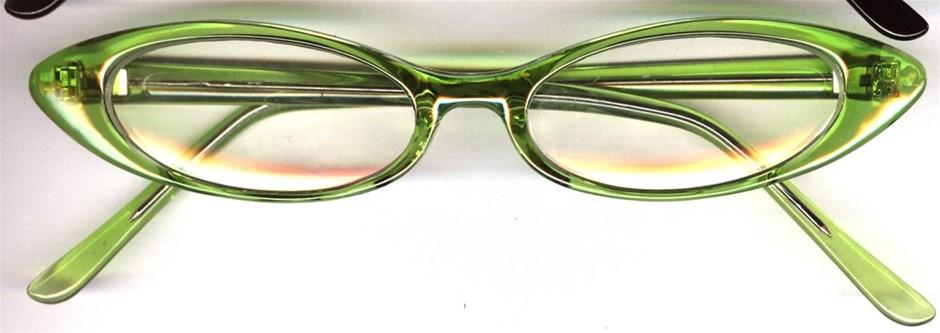CECILY 5x+2.00 Reading Glasses: Apple/Strawberry/Black/B&W Spot/Multi Spot