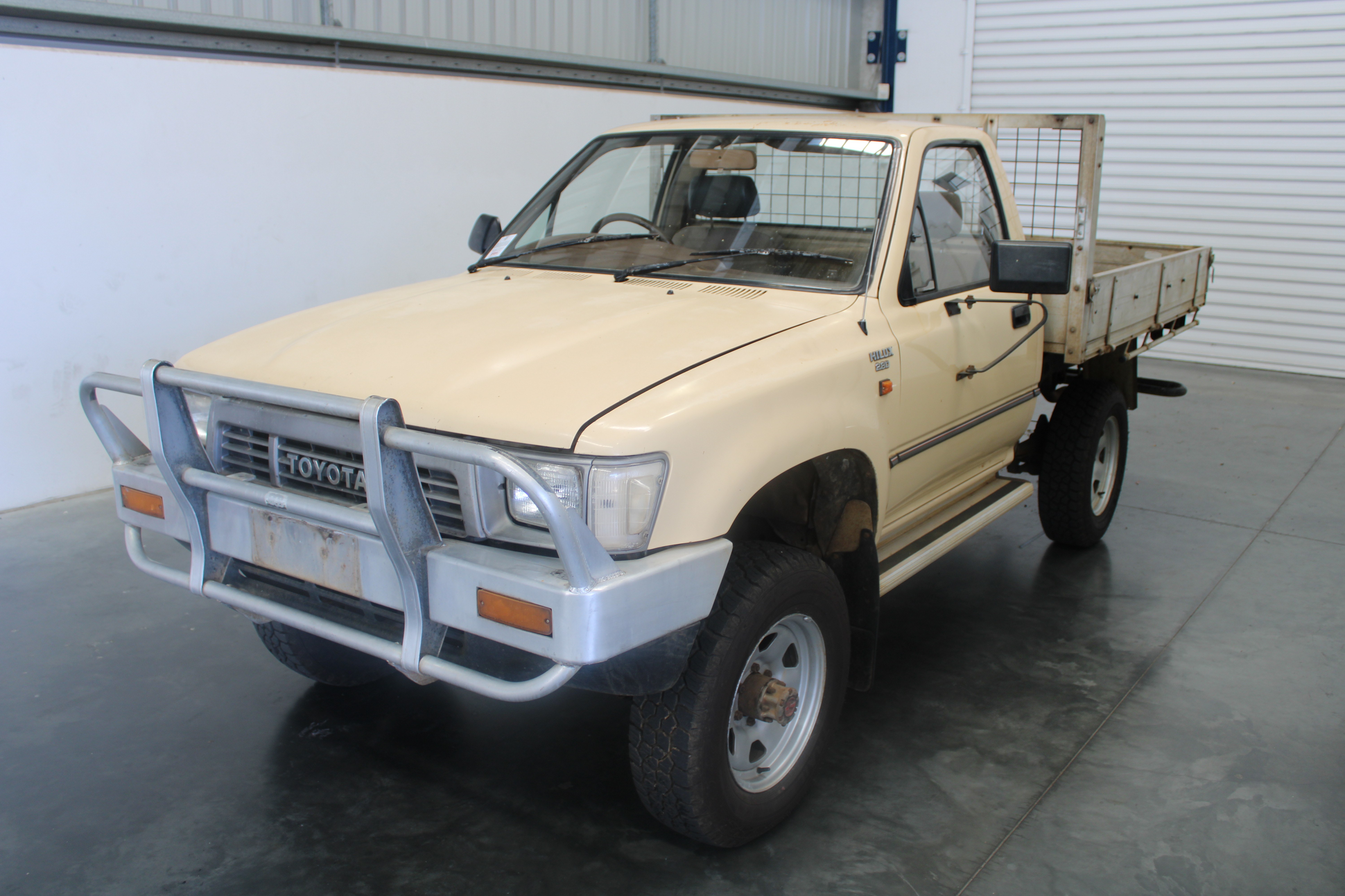 Toyota Hilux (4x4) Manual Cab Chassis