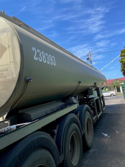 2002 Tieman Liquids Triaxle Tanker.