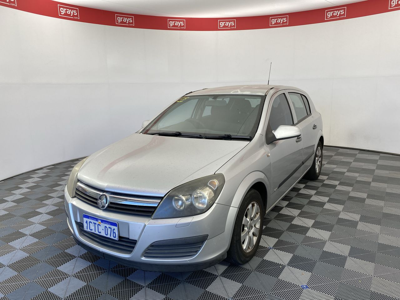 2006 Holden Astra CD AH Manual Hatchback