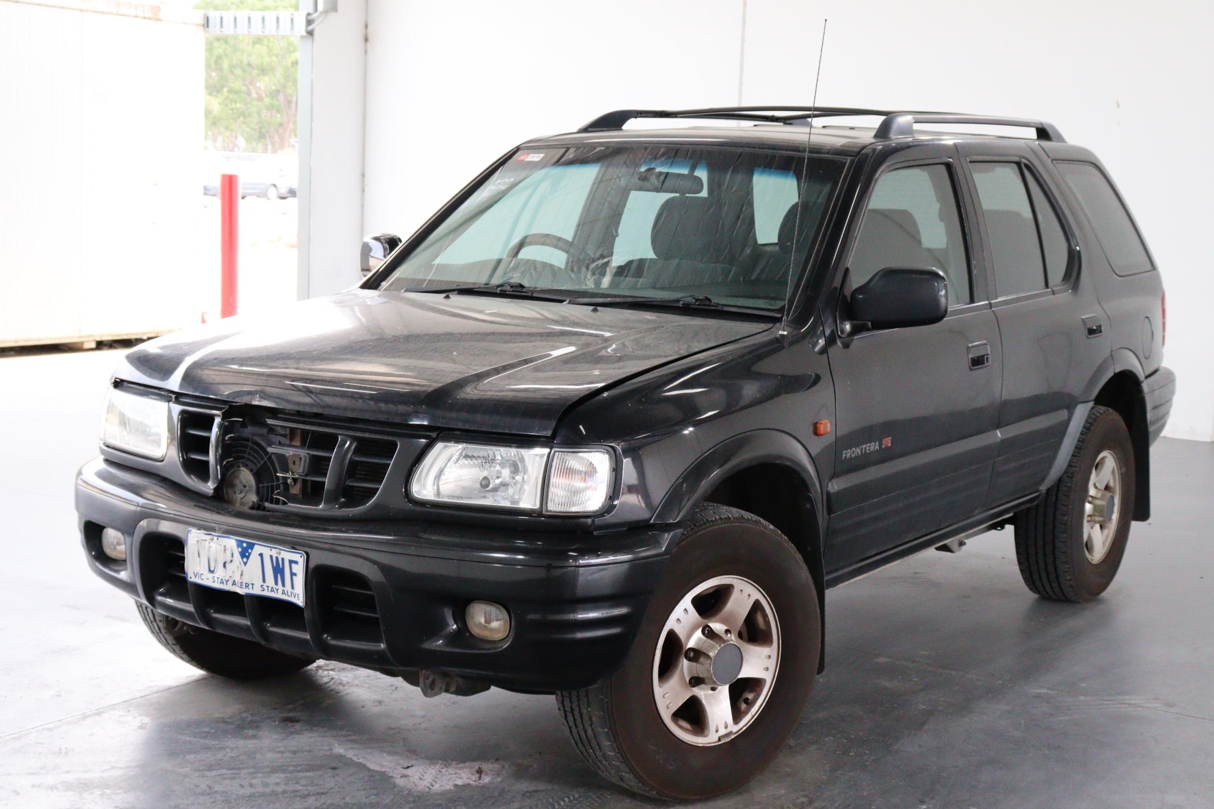 2001 Holden Frontera SE (4x4) Automatic Wagon