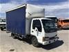 <p>2005 Isuzu NKR 4 x 2 Curtainsider Rigid Truck</p>