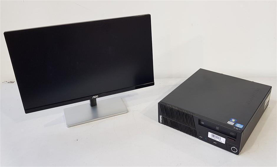 Lenovo Think Centre M71e ( 31328M ) SFF Desktop Pc