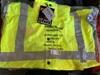 <b>High Visable Waterproof Jackets Size L</b>