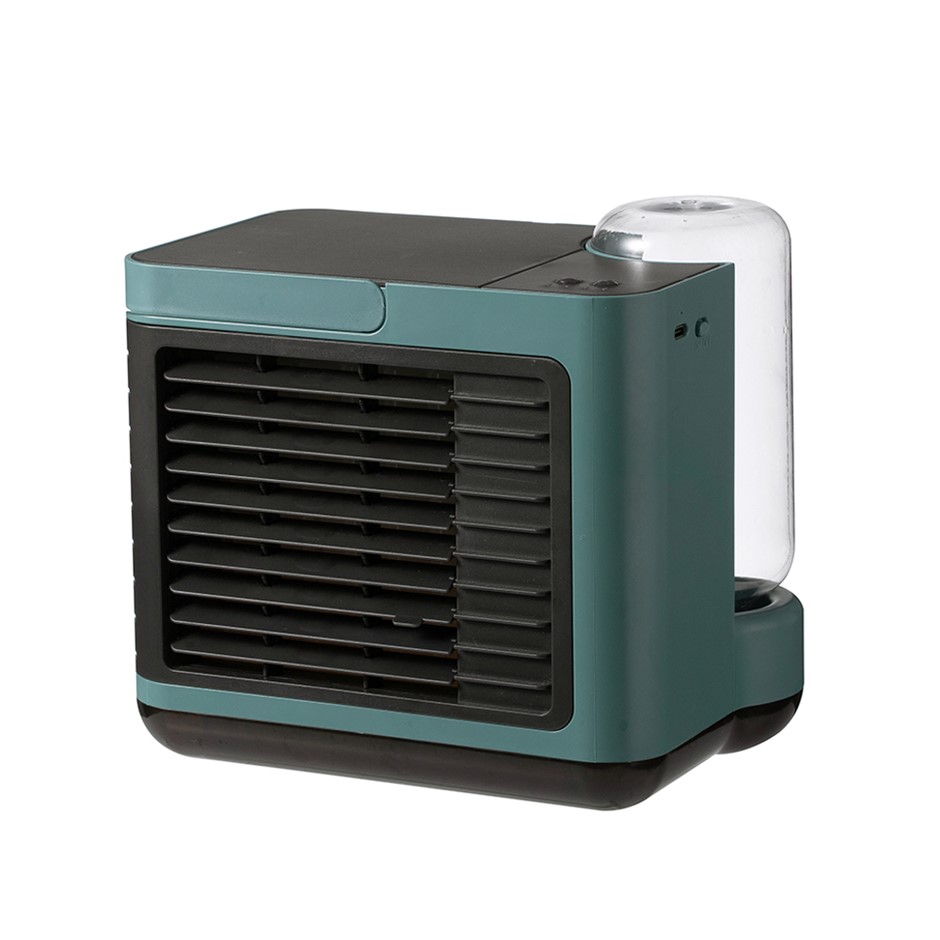 Portable USB-C Mini Air Conditioner Humidifier Purifier Cooling Fan 3in1
