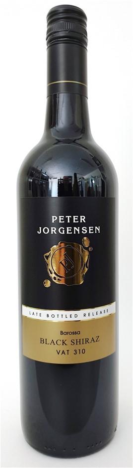 Peter Jorgensen Vat 310 LBR Barossa Black Shiraz 2015 (12 x 750mL) SA