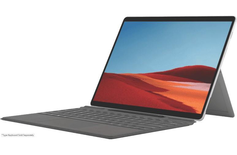 Microsoft Surface Pro X 13-inch SQ2/16GB/512GB SSD 2 in 1 Device - Platinum