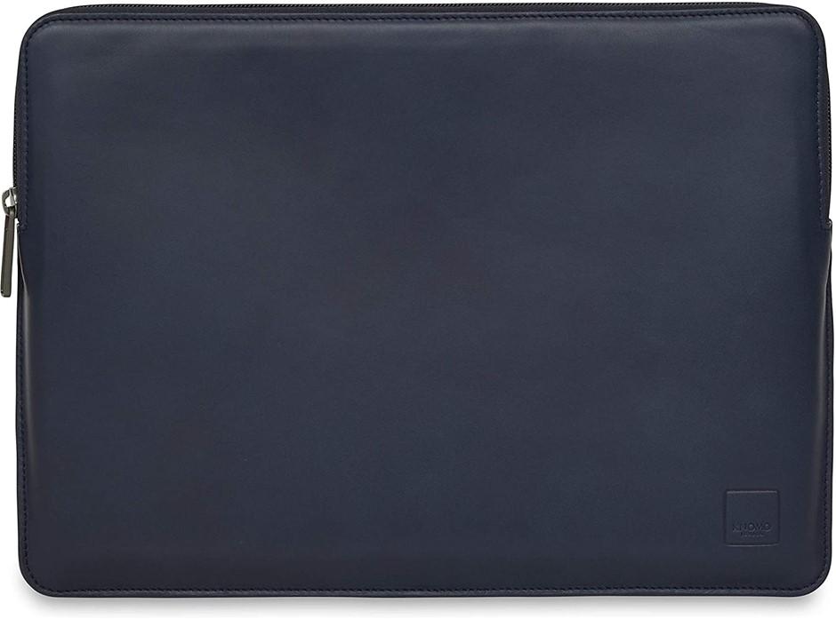 "Knomo Barbican 13"" Laptop Sleeve, Slim - Blue"