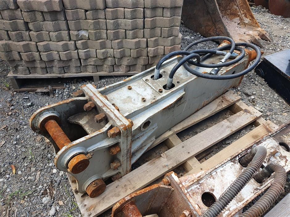 5T Impact Hammer to suit 5T Excavator