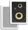 Monoprice 3-Way Aramid Fiber In-Wall Speakers - 6.5 Inch (Pair)