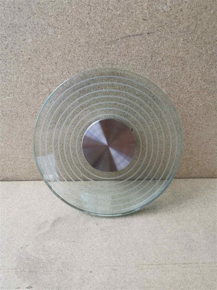 DOMUS LED Crystal Glass Circular Ceiling Lighting RRP $65.95