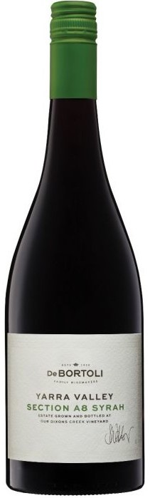 De Bortoli Single Vineyard Section A8 Syrah 2018 (6 x 750mL), Yarra Valley